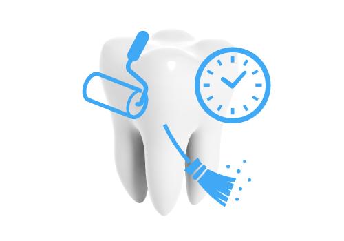 歯から歯石をきれいにする方法